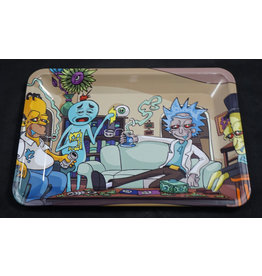 Rick and Morty and Friends Small Rolling Tray