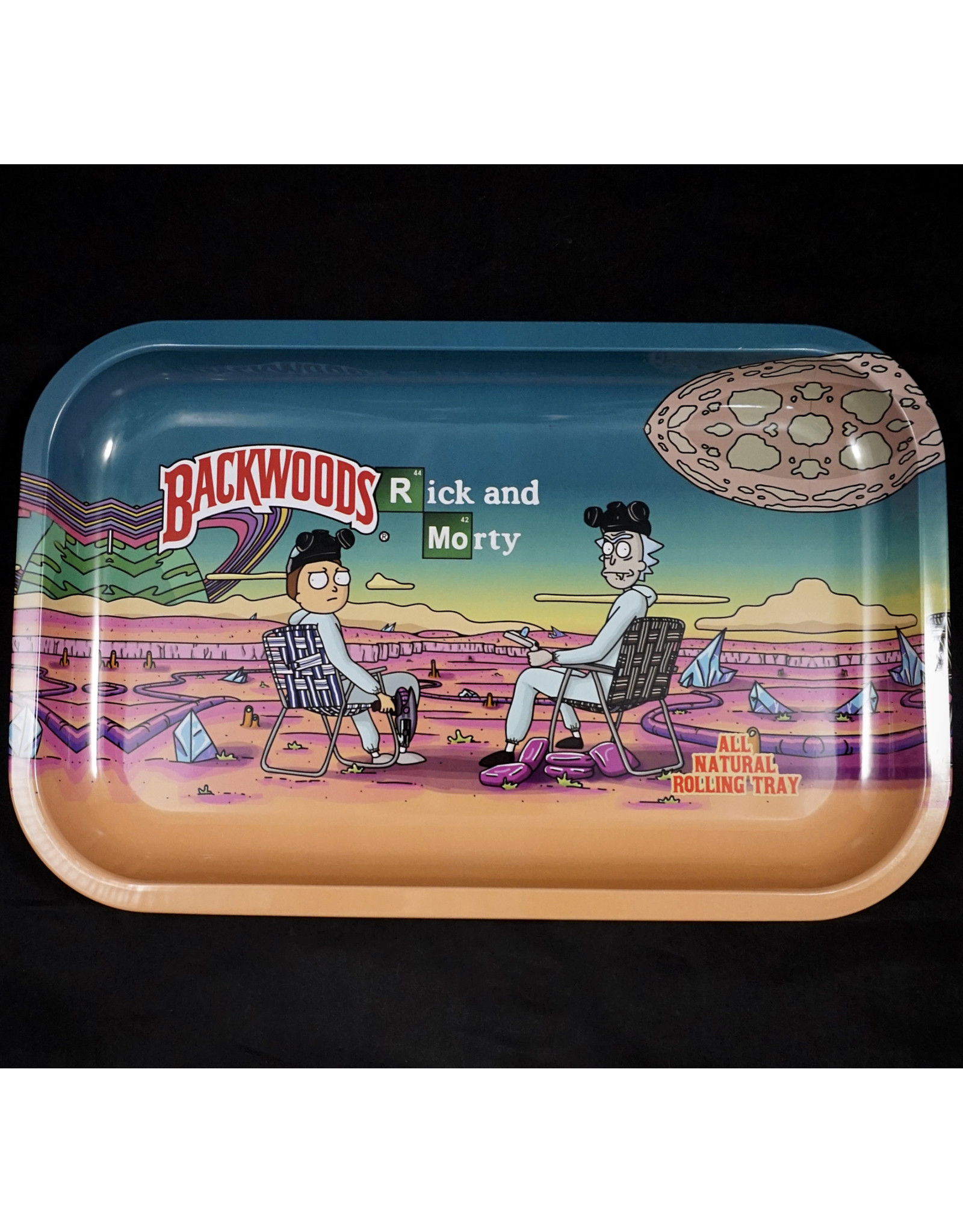 Rick and Morty Chemistry Medium Rolling Tray