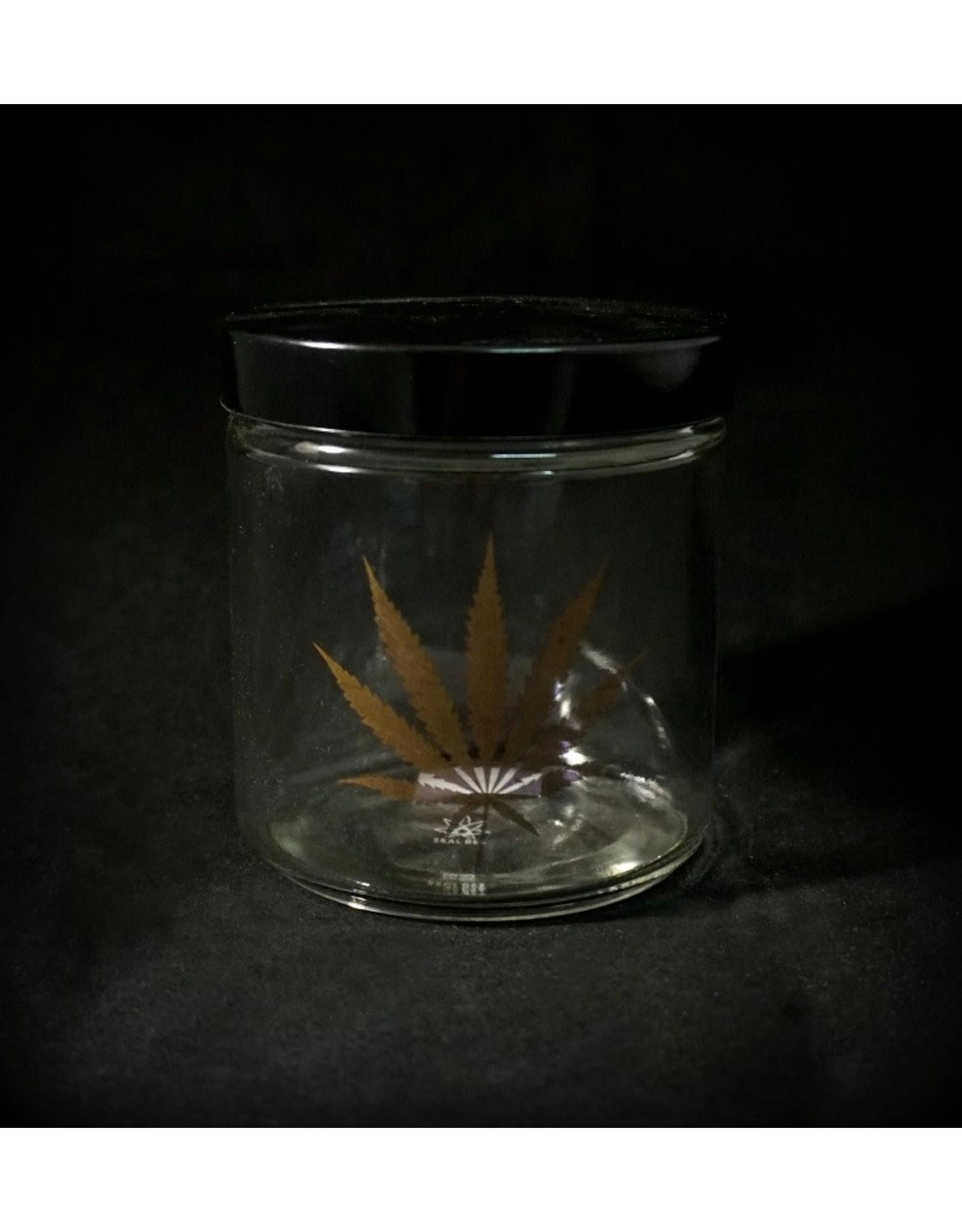 420 Science 420 Science Jars XLarge Gold Leaf Screw Top