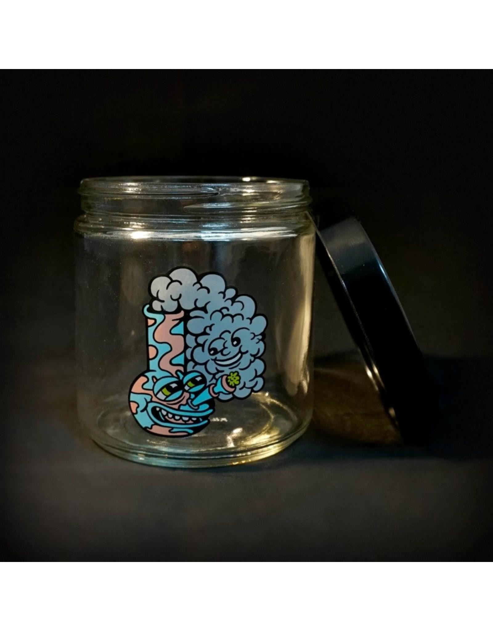 420 Science 420 Science Jars XLarge Happy Bong Screw Top