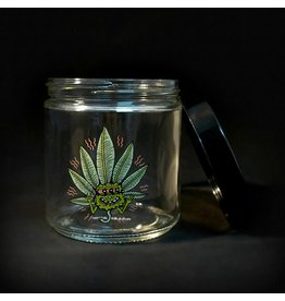 420 Science 420 Science Jars XLarge Happy Leaf Screw Top