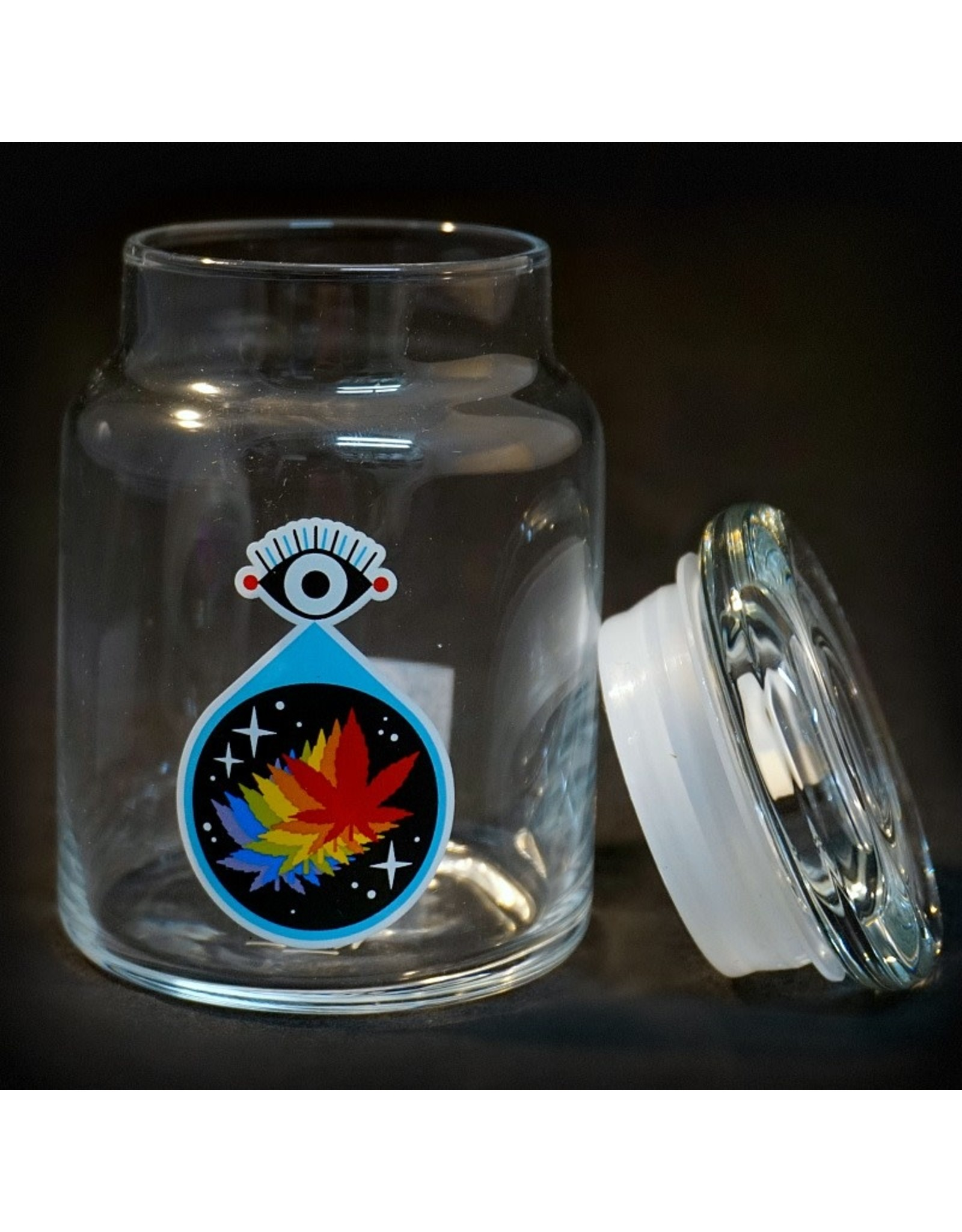 420 Science 420 Science Jars Small All Seeing Leaf Pop Top