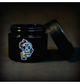 420 Science 420 Science Jars  Small Cosmic Skull UV Screw Top