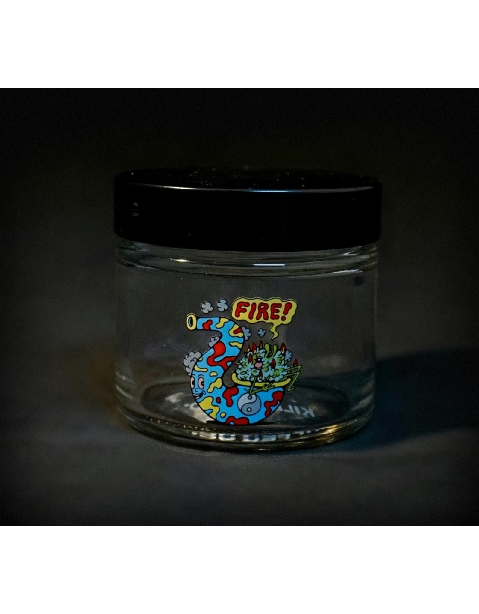 420 Science 420 Science Jars  Small Fire Bud Screw Top