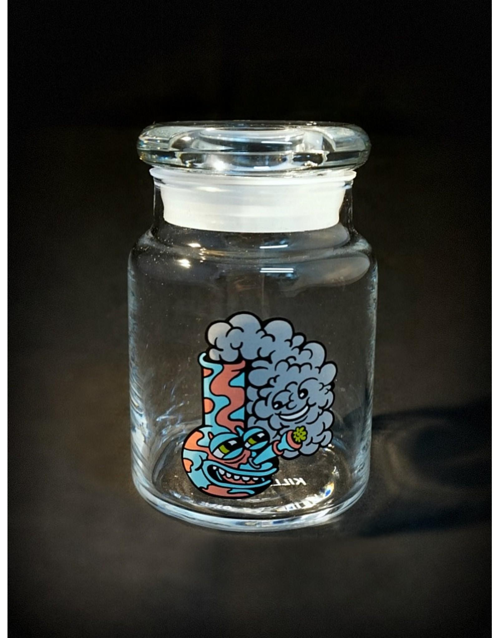 420 Science 420 Science Jars Small Happy Bong Pop Top