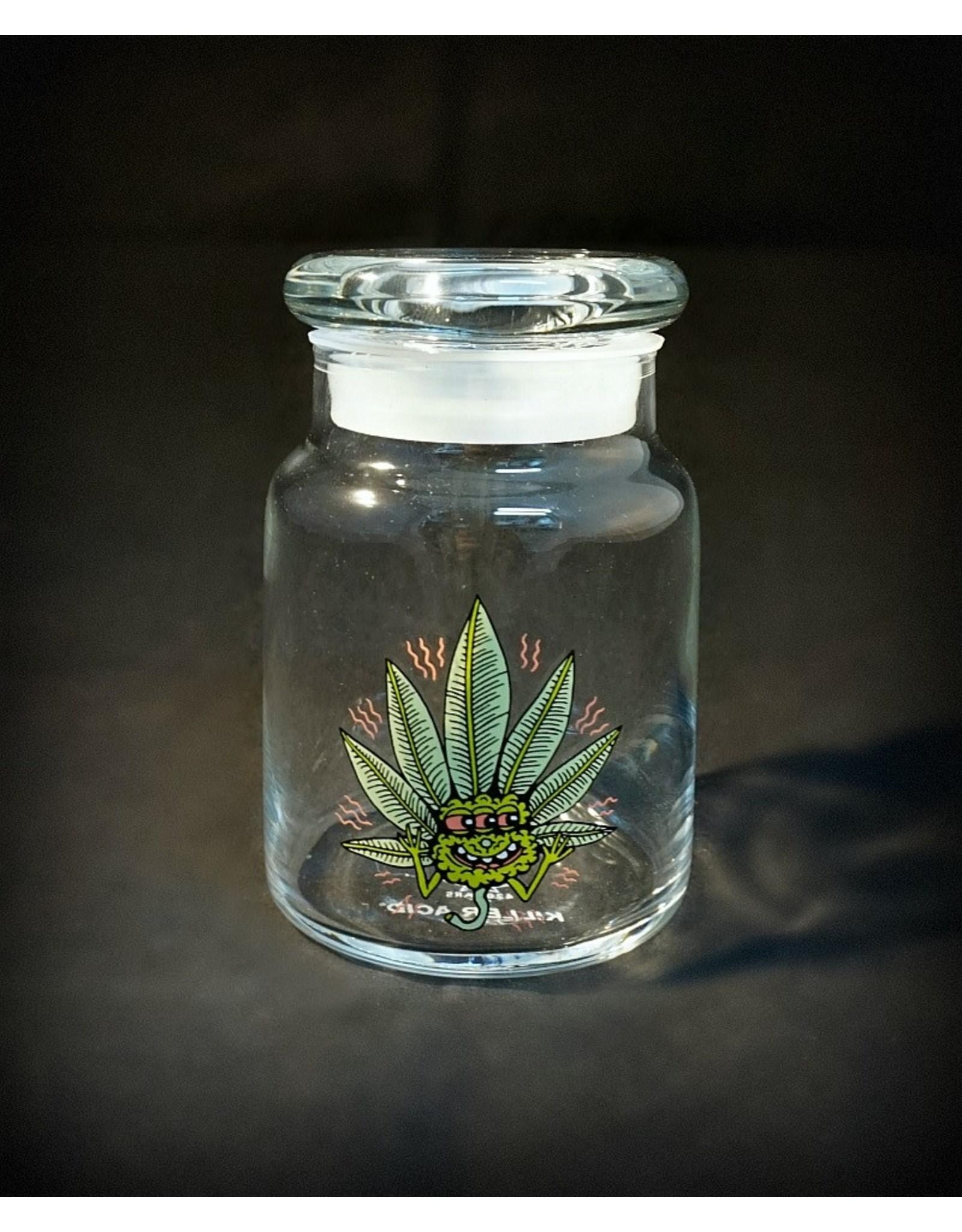 420 Science 420 Science Jars Small Happy Leaf Pop Top
