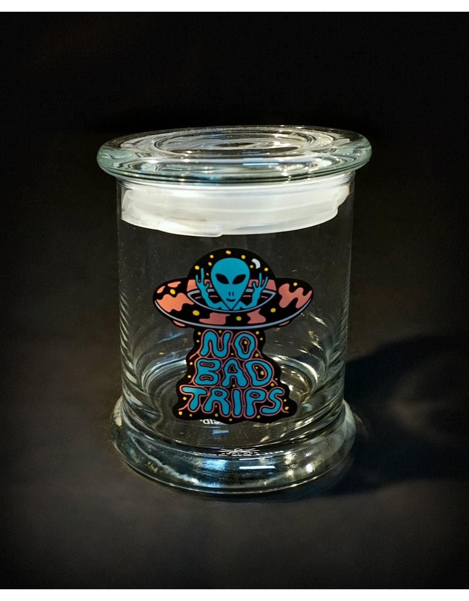 420 Science 420 Science Jars Large No Bad Trips Pop Top