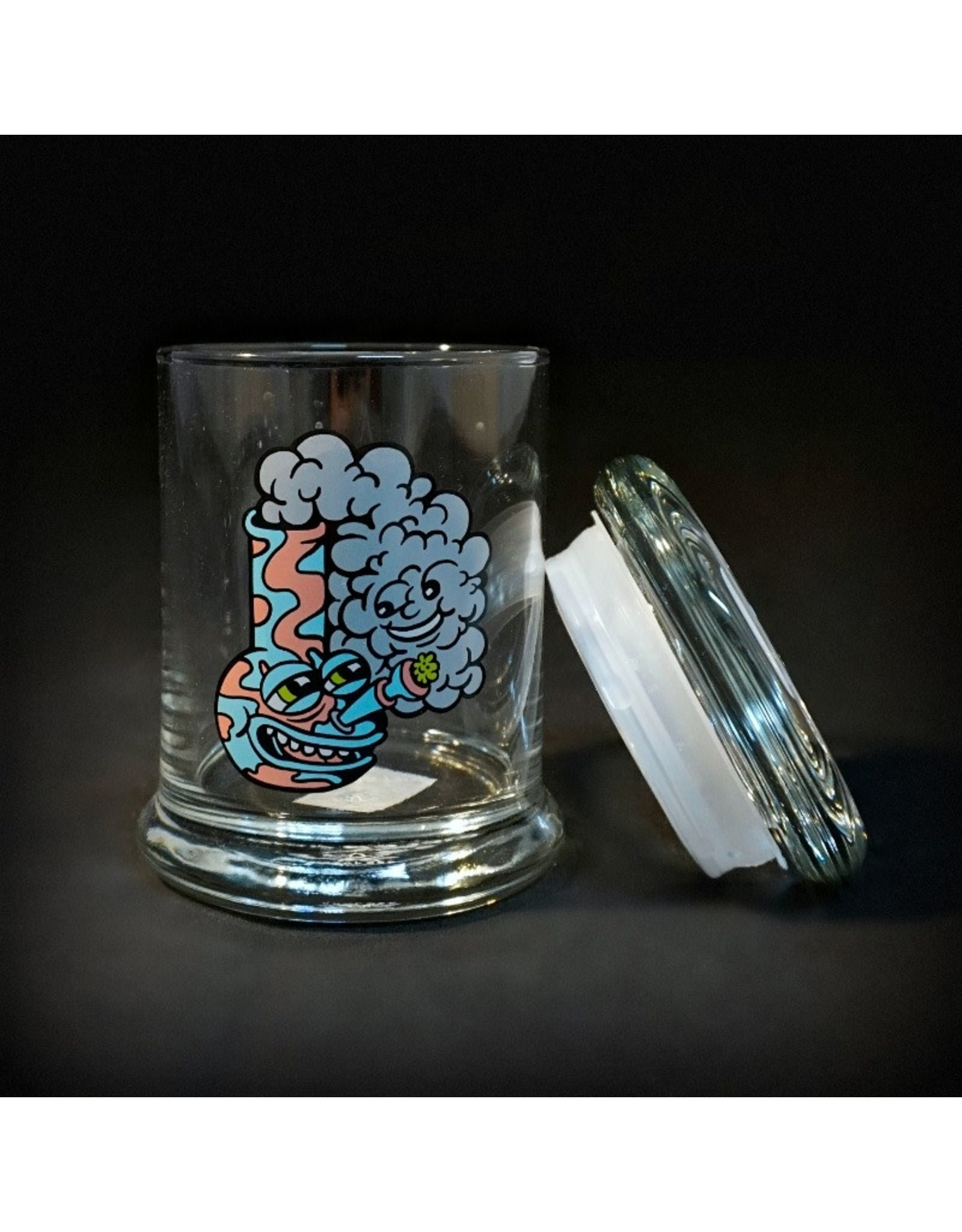 420 Science 420 Science Jars Medium Happy Bong Pop Top