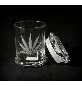 420 Science 420 Science Jars Medium Silver Leaf Pop Top