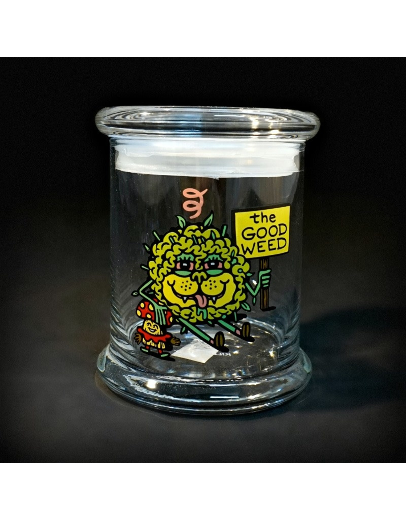 420 Science 420 Science Jars  Large The Good Weed Pop Top