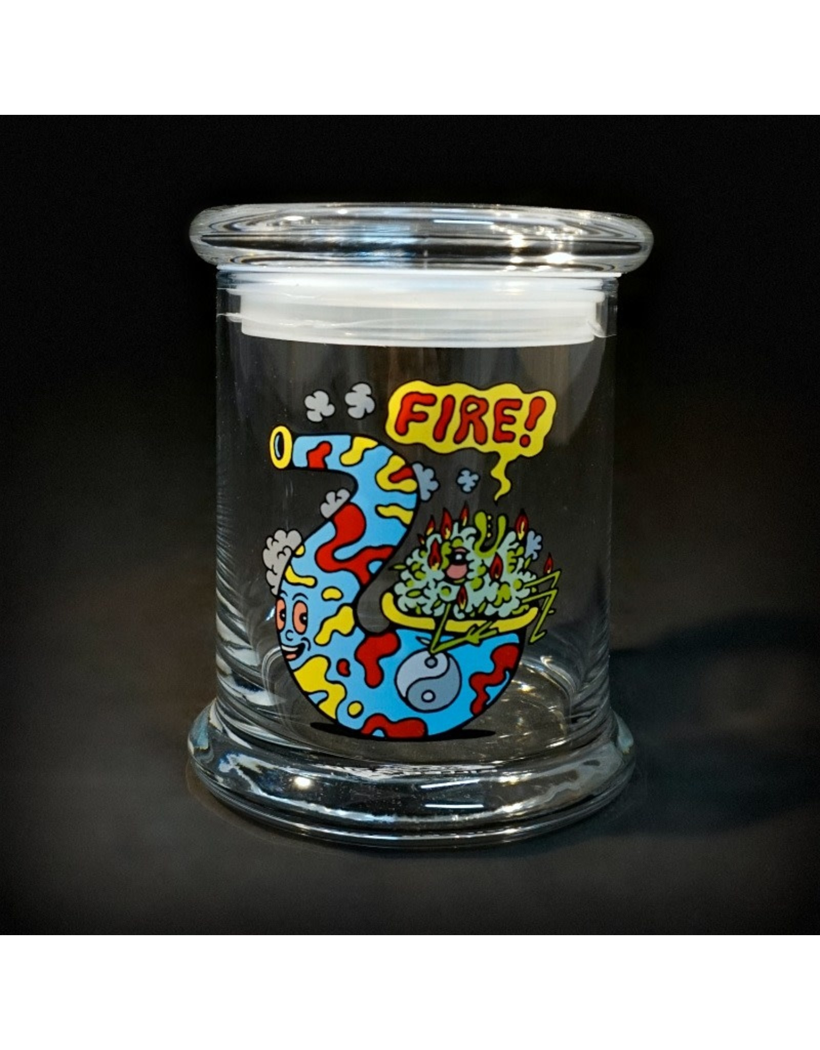 420 Science 420 Science Jars Large Fire Bud Pop Top