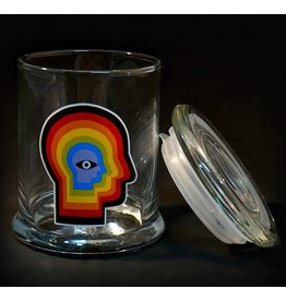 420 Science 420 Science Jars Large Rainbow Mind Pop Top