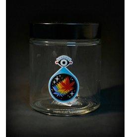 420 Science 420 Science Jars Medium All Seeing Leaf Screw Top