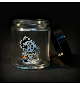 420 Science 420 Science Jars Medium Cosmic Skull Screw Top