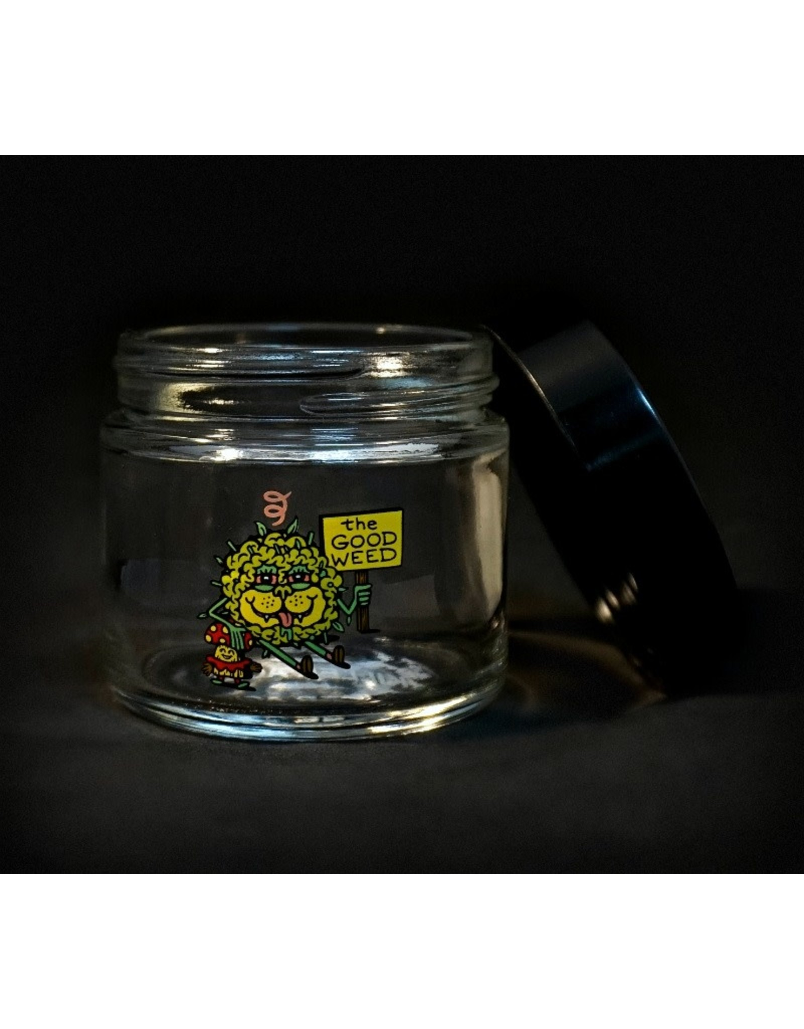 420 Science 420 Science Jars  Small The Good Weed Screw Top