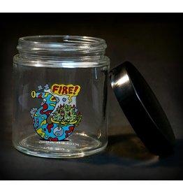 420 Science 420 Science Jars Medium Fire Bud Screw Top