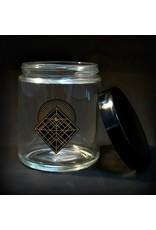 420 Science 420 Science Jars Large Diamond Intersect Screw Top