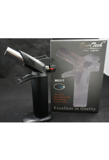 "EverTech Torch Lighter Dual Flame 6"" Black"