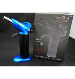 """EverTech Torch Lighter Dual Flame 6"""" Blue"""