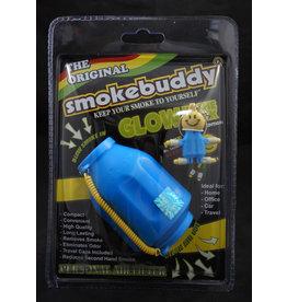 Smoke Buddy Smoke Buddy Blue Glow in Dark