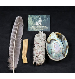 White Sage and Palo Santo Kit 5""