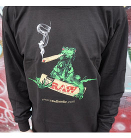 Raw Raw Mens Long Sleeve Iguana Shirt