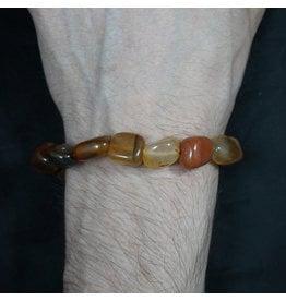 Tumbled Stone Bracelet - Carnelian