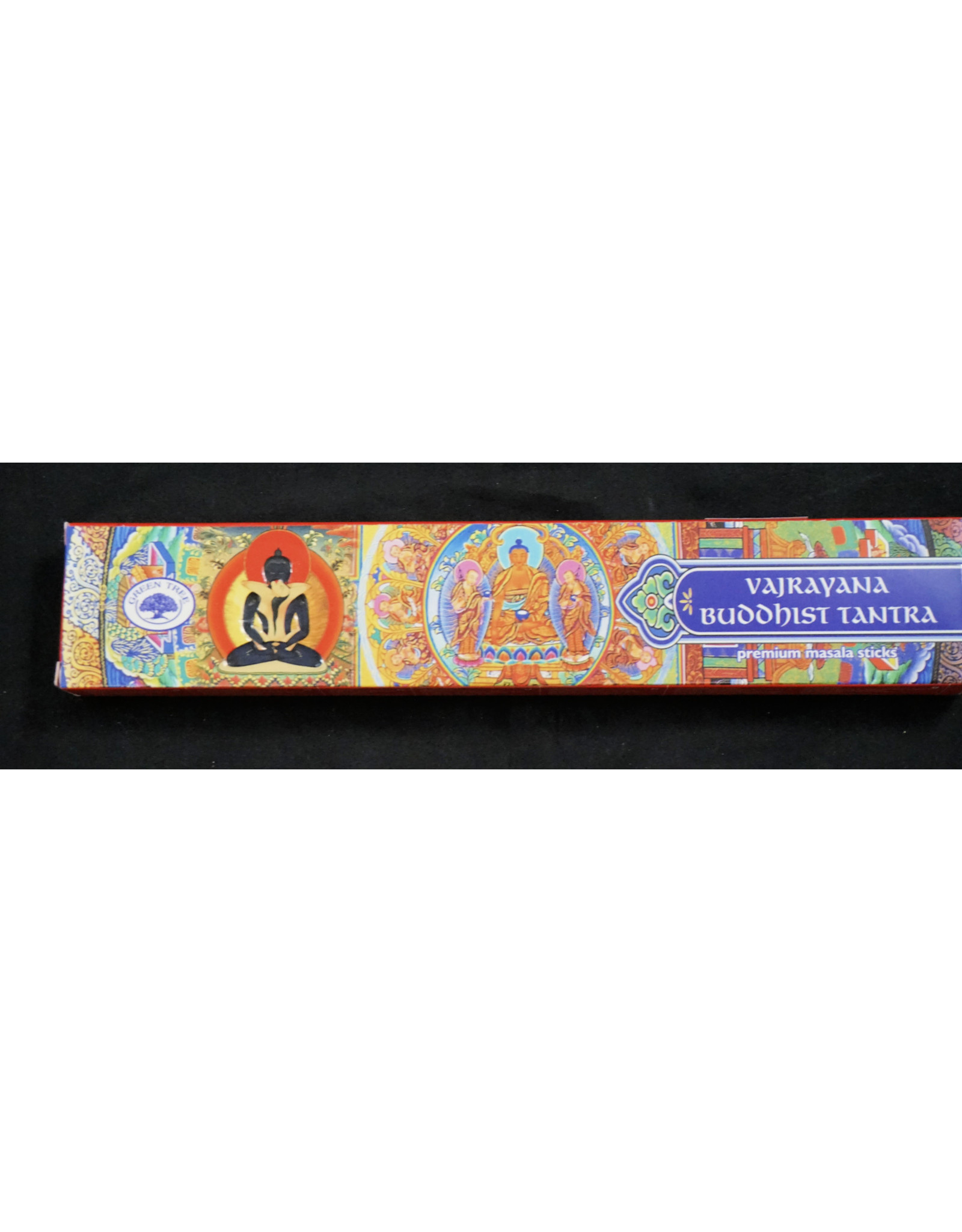 Green Tree Incense 15g -Buddhist Tantra