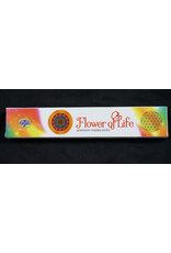 Green Tree Incense 15g - Flower Of Life