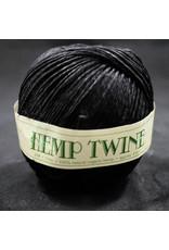 Black Hemp Twine 1mm 100g