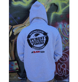 Raw Raw OG Hoodie - Heather Gray XLarge