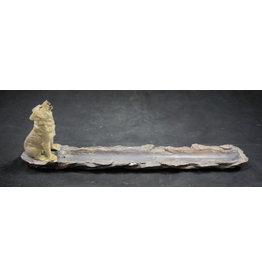 Wolf Incense Burner