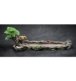 Green Man Ployresin Incense Burner