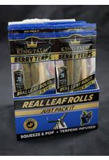 King Palm King Palm Pre-Roll Wraps – 2pk Mini Berry Terps