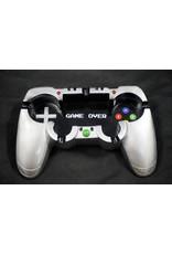 Game Remote Polyresin Ashtray - Black Silver