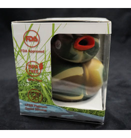 Silicone Duck Water Pipe - Piecemaker Kwack Camo