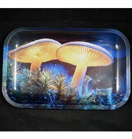 Pulsar Pulsar Metal Rolling Tray Medium Mystical Mushrooms
