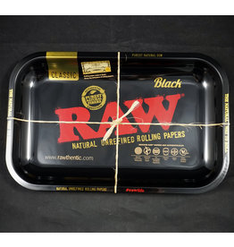 Raw Raw Black Rolling Tray - Small