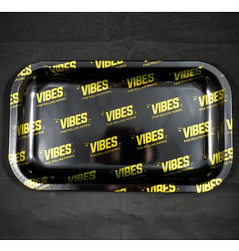 Vibes Papers VIBES Metal Rolling Tray - Allover Medium