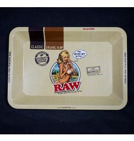 Raw Bikini Woman Rolling Tray - Mini