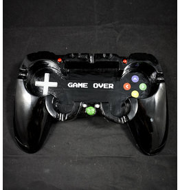 Game Remote Polyresin Ashtray - Black