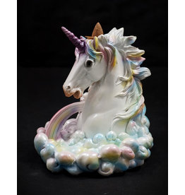Cloud Breathing Unicorn Backflow Incense Burner 5.5""