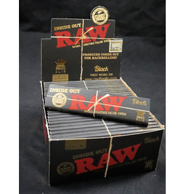 Raw Raw Black Papers KS Slim Inside Out