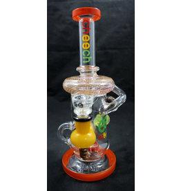 """Cheech Glass Cheech Glass Recycler 10"""""""