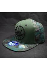 Circle Leaf Green Hat