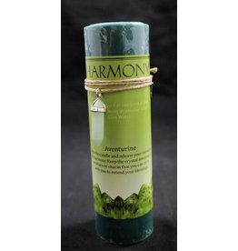 Crystal Energy Pendant Candle - Aventurine Harmony