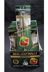 King Palm King Palm Pre-Roll Wraps - 2pk Slim Watermelon Wave