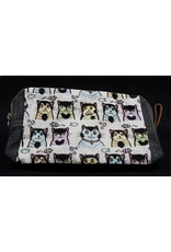 Cats Cosmetic Bag