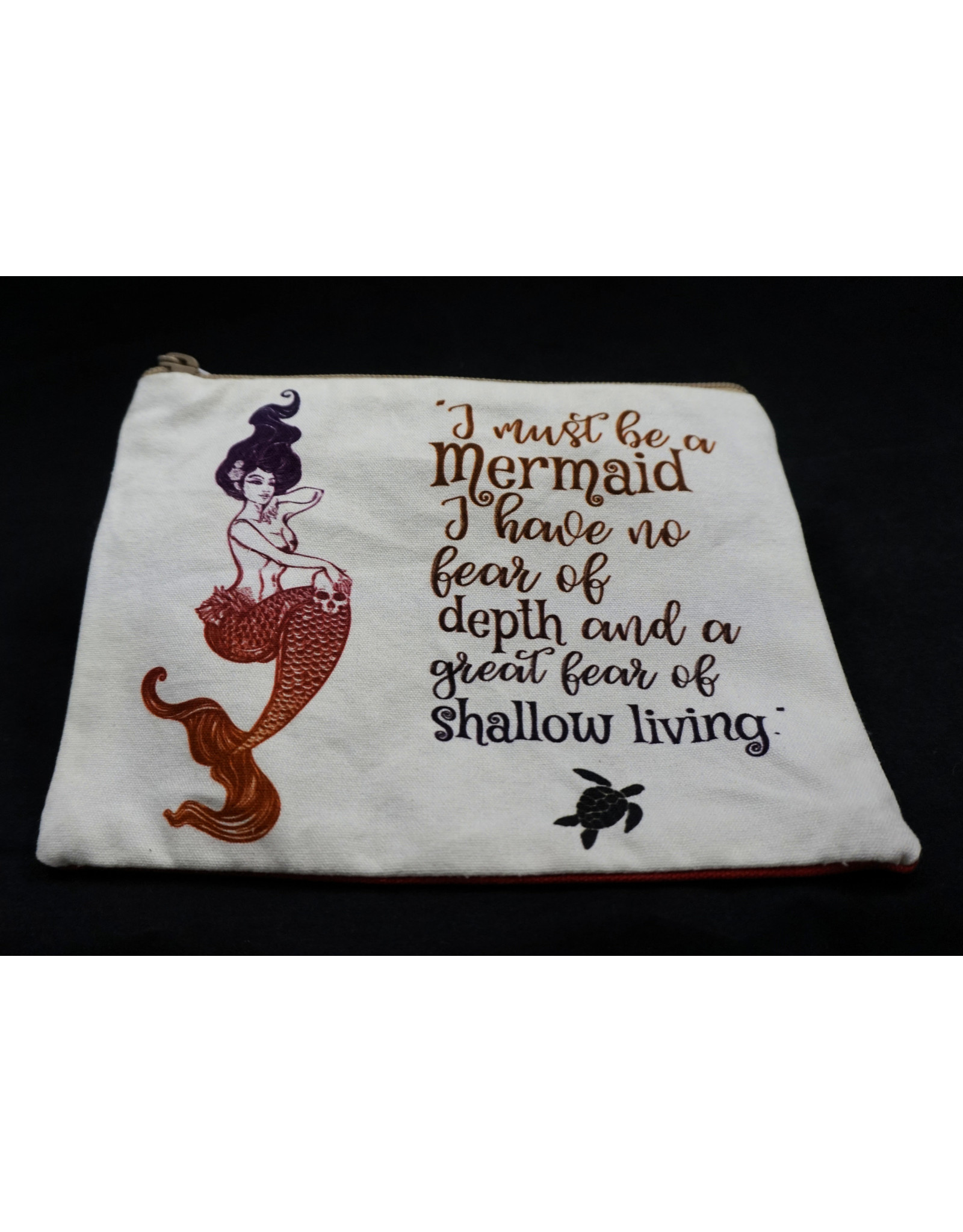 Mermaid Graphic Print Bag