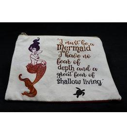 Mermaid Graphic Print Bag